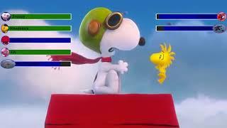 Peanuts Movie Final Battle with healthbars HD