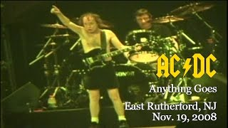 AC/DC- Anything Goes [Live in East Rutherford, NJ, Nov. 19, 2008]