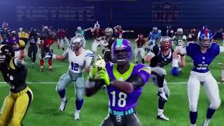 NFL Football and Fortnite TRAILER new Skins!!! November 10th!!