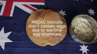 Australian High Commission Prepares Early Anzac Biscuit Recipe