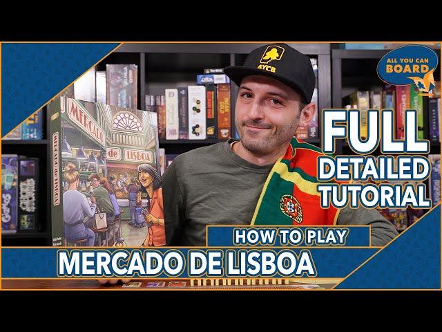 Mercado de Lisboa | How to Play | Tactical Tile-Laying for Marketplace Supremacy