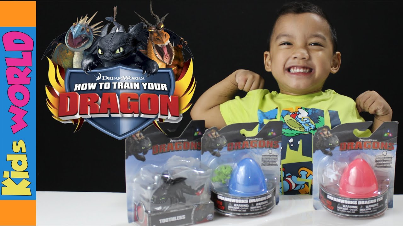 How to Train your Dragon SURPRISE EGGs and Toys