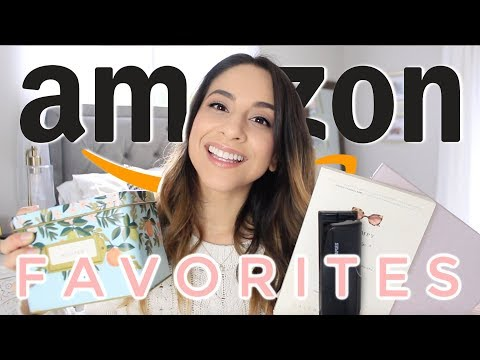 AMAZON PRIME FAVORITES 2019   MUST HAVES + WHAT I BOUGHT ON AMAZON HAUL   Justine Marie