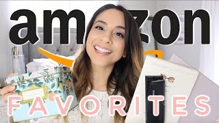 AMAZON PRIME FAVORITES 2019 | MUST HAVES + WHAT I BOUGHT ON AMAZON HAUL | Justine Marie