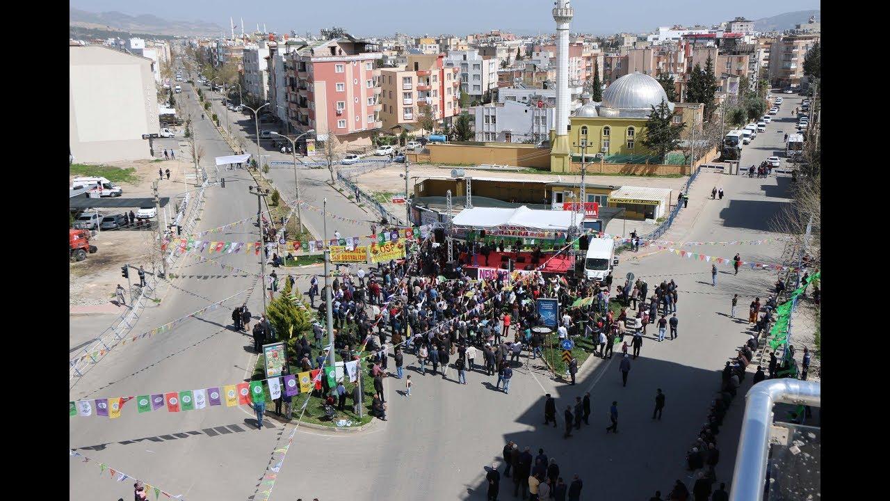 Adıyaman'da Nevruz Kutlaması Sönük Geçti