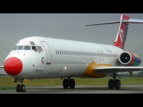 Danish Air Transport MD-87, OY-JRU - The last MD-87 in Europe