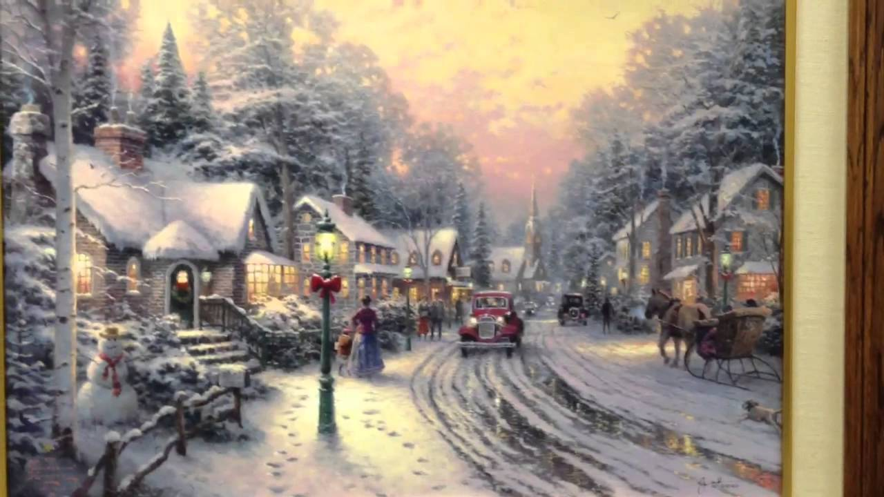 Merry Christmas Canvas Paintings