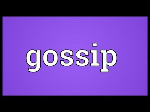 Gossip Meaning