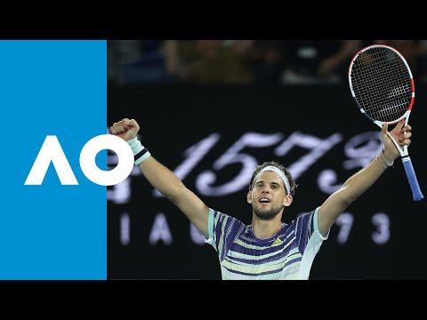 Rafael Nadal vs Dominic Thiem - Match Highlights (QF) | Australian Open 2020