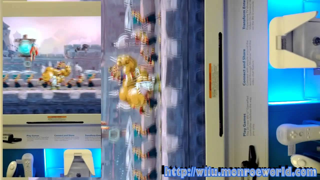 News Erste Wii U Demo Stationen Erreichen Den Gamestop 18 10 2012 10 18 Eyes On Nintendo