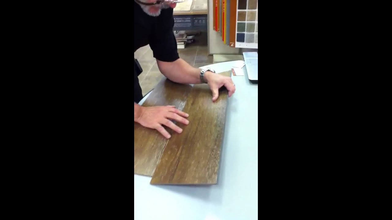 Click Lock Floating Vinyl Tile Flooring By Linkwerks Linkwo Youtube