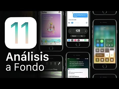 iOS 11, análisis a fondo (+40 novedades)