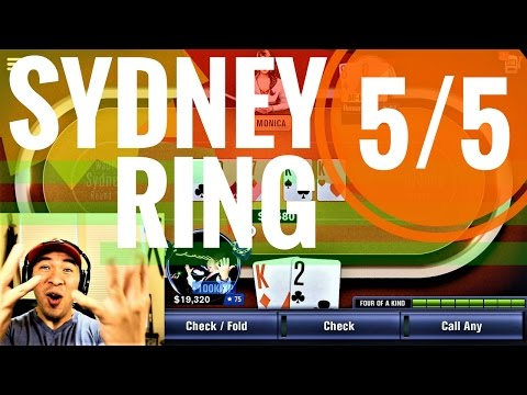 Fighting For SYDNEY RING 5/5 | WSOP Tournament Series | Beginner Or Not, Here I Come