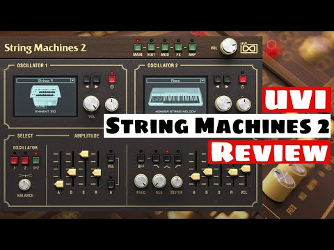 Ultimate String Synthesizer Collection?! UVI String Machines 2 Review | SYNTH ANATOMY