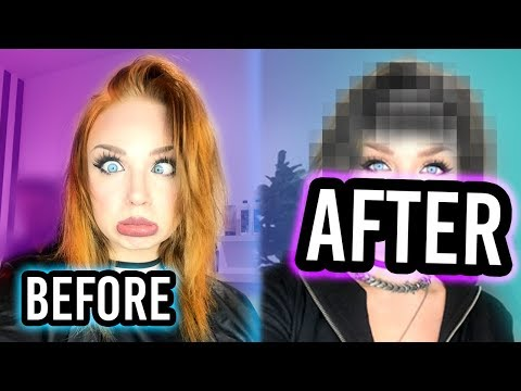 MY SUBSCRIBERS PICK MY HAIR CUT AND COLOR