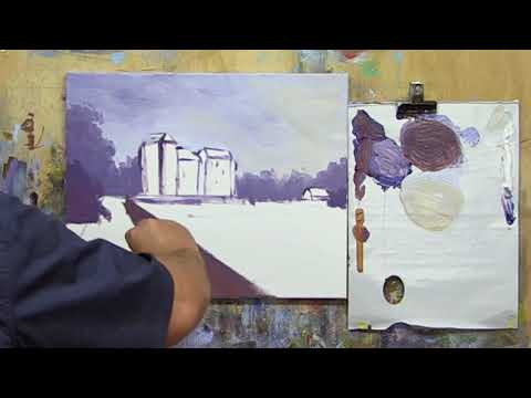 "Learn To Paint TV E55 ""Ruthven Castle in Scotland"" Acrylic Painting Beginners Tutorial"