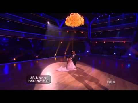 JR Martinez and Karina Smirnoff Viennesse Waltz