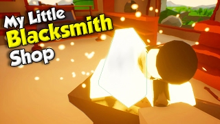 Becoming a Blacksmith! - My Little Blacksmith Shop Gameplay