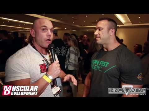 Andrew Hudson's Pre-Show Interview - Arnold Classic Africa 2016