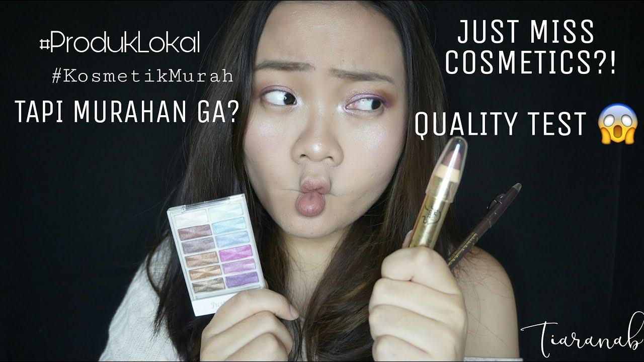 Just Miss Cosmetics Test Supportlokal Tiaranab Youtube