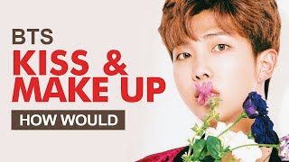 """How Would BTS Sing Dua Lipa X BLACKPINK """" Kiss And Make Up """" (Male Version) Line Distribution"""