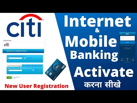 How To Self Register Citibank Credit Card Online | Mobile Banking | Net Banking