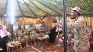 الأمير تركي ال سعود يزور قوات الحرس الوطني بنجران