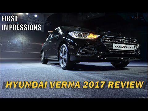 HYUNDAI VERNA 2017 IN DEPTH REVIEW AFTER LAUNCH l CARBABA