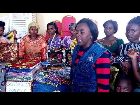 Goma Tumaini Visits  Mama Wimbi