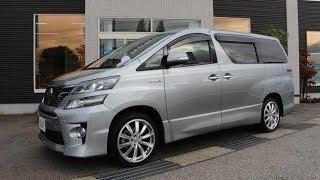 Король минивенов Toyota VellFire/Alphard Hybrid из Японии. Встречаем в Омске.