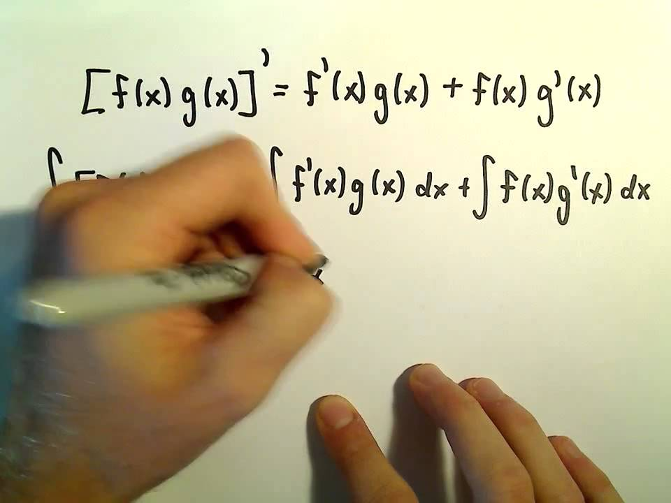 Deriving the Integration by Parts Formula - Easy!