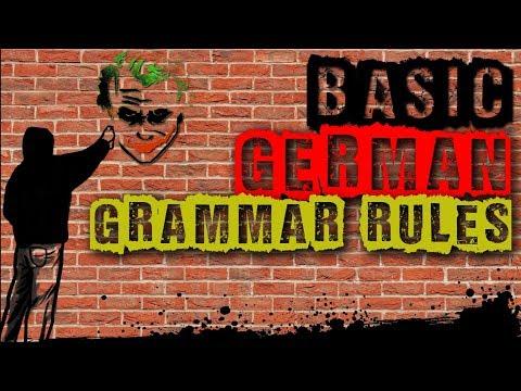 Learn German | Basic & Easy German Grammar Rules To Keep In Mind! | VlogDave