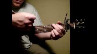 "Riff Friendly-Quick rhythm guitar lesson on ""Let it Rain"" by Derek Cate"