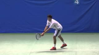Gengo Kikuchi (JPN) Tennis Japan League 2016 #2