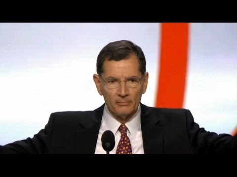 Sen. John Anthony Barrasso. Speech at Republican National Convention. July 18, 2016.