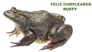Rusty  Animals & Animales - Happy Birthday