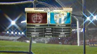 Fútbol en vivo. Lanús - Atl. Tucumán. Fecha 4. Primera División 2016.
