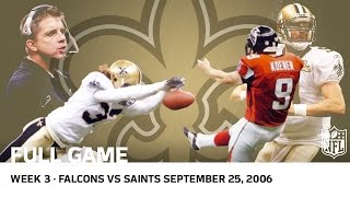Saints Return After Hurricane Katrina (Wk 3, 2006) | Falcons vs. Saints | NFL Full Game