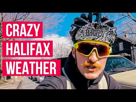 Snow Storms, Cycling in Halifax & Setting Too Many Goals
