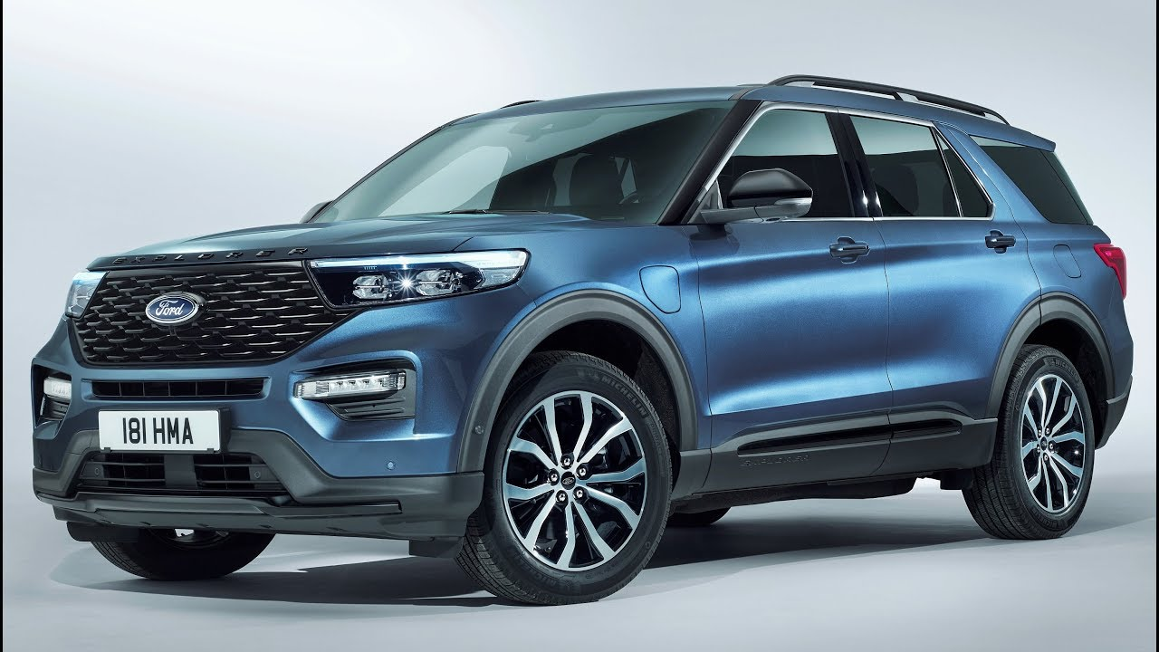 2020 Ford Explorer Plug In Hybrid Suv