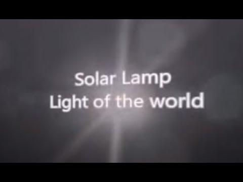 A Durable Solar Lamp