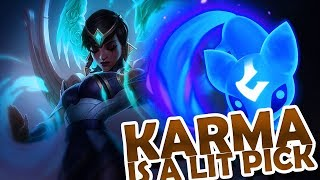 FROGGEN | KARMA MID - EITHER A WIN OR A WIN !!