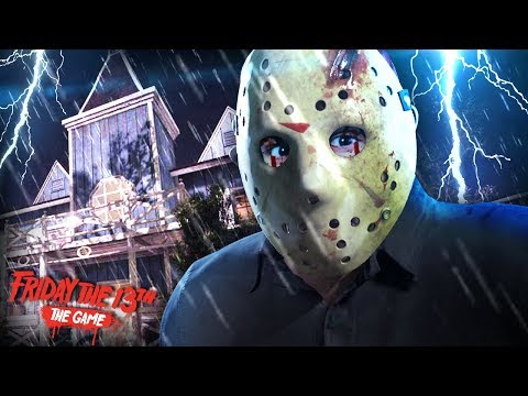 THE BEST F13 GAME I WILL EVER PLAY! (I laughed so hard) || Friday The 13th (New Jason/ New Map)