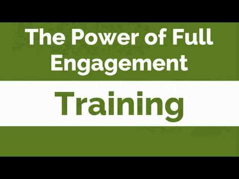 the-power-of-full-engagement---training