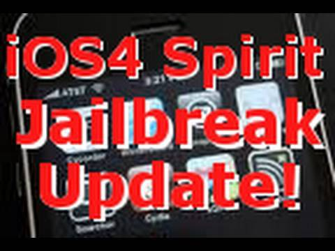 iOS 4 Spirit JailBreak Update - For Every iPhone and iPod Touch