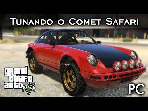 Tunando o Comet Safari - Um Porsche 911 OFF ROAD! :O | GTA V - PC [PT-BR]