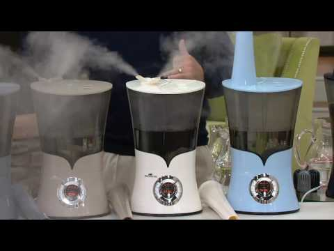 Air Innovations Clean Mist Top Fill Humidifier with ExtensionNozzle on QVC