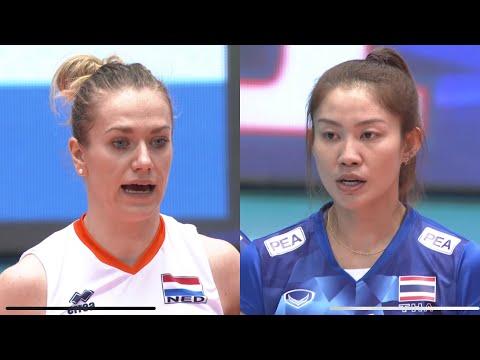 ไทย - เนเธอร์แลนด์ : ส้มโหดก่อนส้มหยุด : วอลเลย์บอลหญิงโอลิมปิครอบคัดเลือก 2016