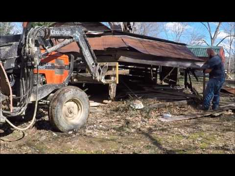 Antique Barn Raising Part Two: World's Best Face Lift ?