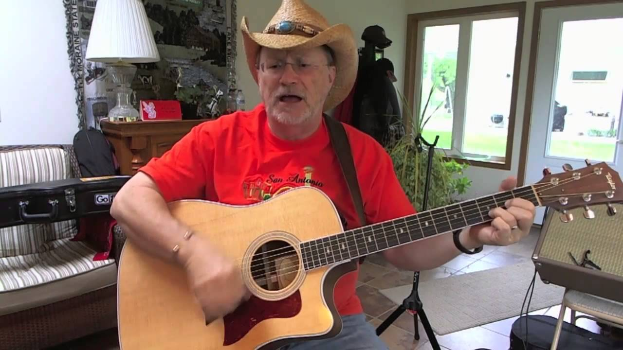 1324 Wish I Didnt Know Now Toby Keith Cover With Guitar Chords